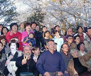 ある年の源氏山大花見宴